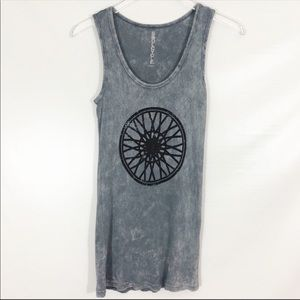 Soulcycle Logo Ribbed Tank SIZE M